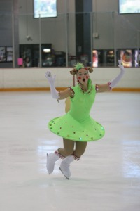 Brittyni Carlson Light Up Alien Costume Figure Skating