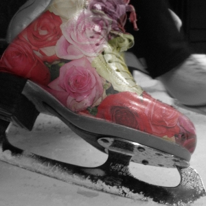 Flower Figure Skates