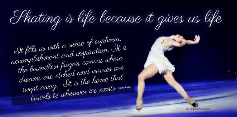 Skating Gives Us Life Ina Bauer