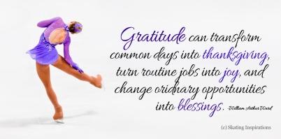 Figure Skating Gratitude